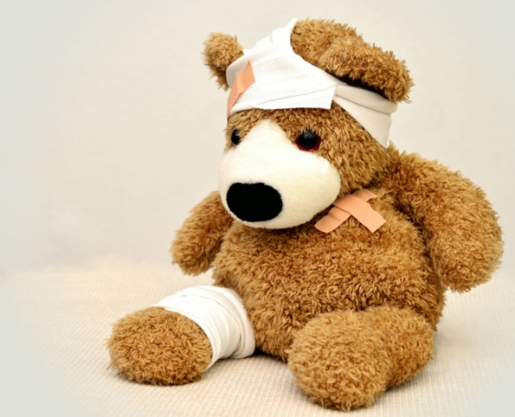 teddy bear injury